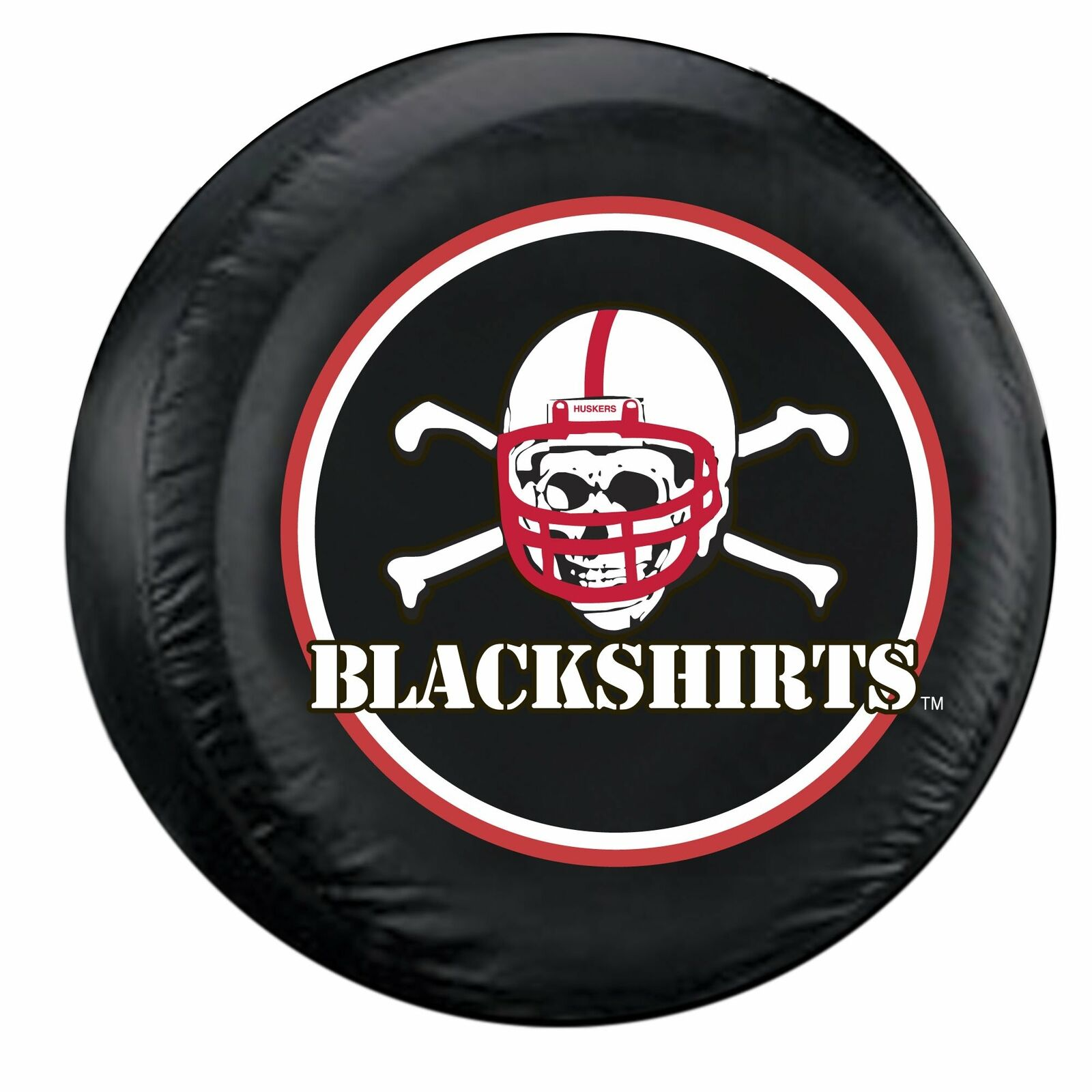 Fremont Die Georgia Bulldogs NCAA Licensed Standard Black Tire Cover