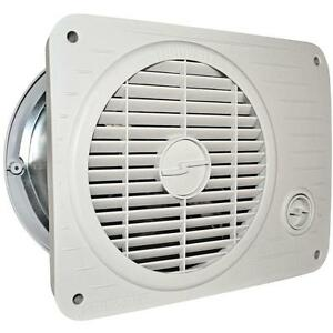 Suncourt thru wall fan hardwired hot cool air circulation for Air circulation fans home