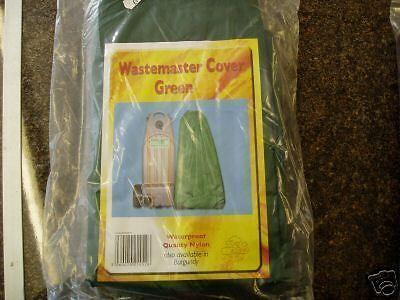 BDWMCG CARAVAN MOTORHOME WASTEMASTER COVER STORAGE BAG IN GREEN
