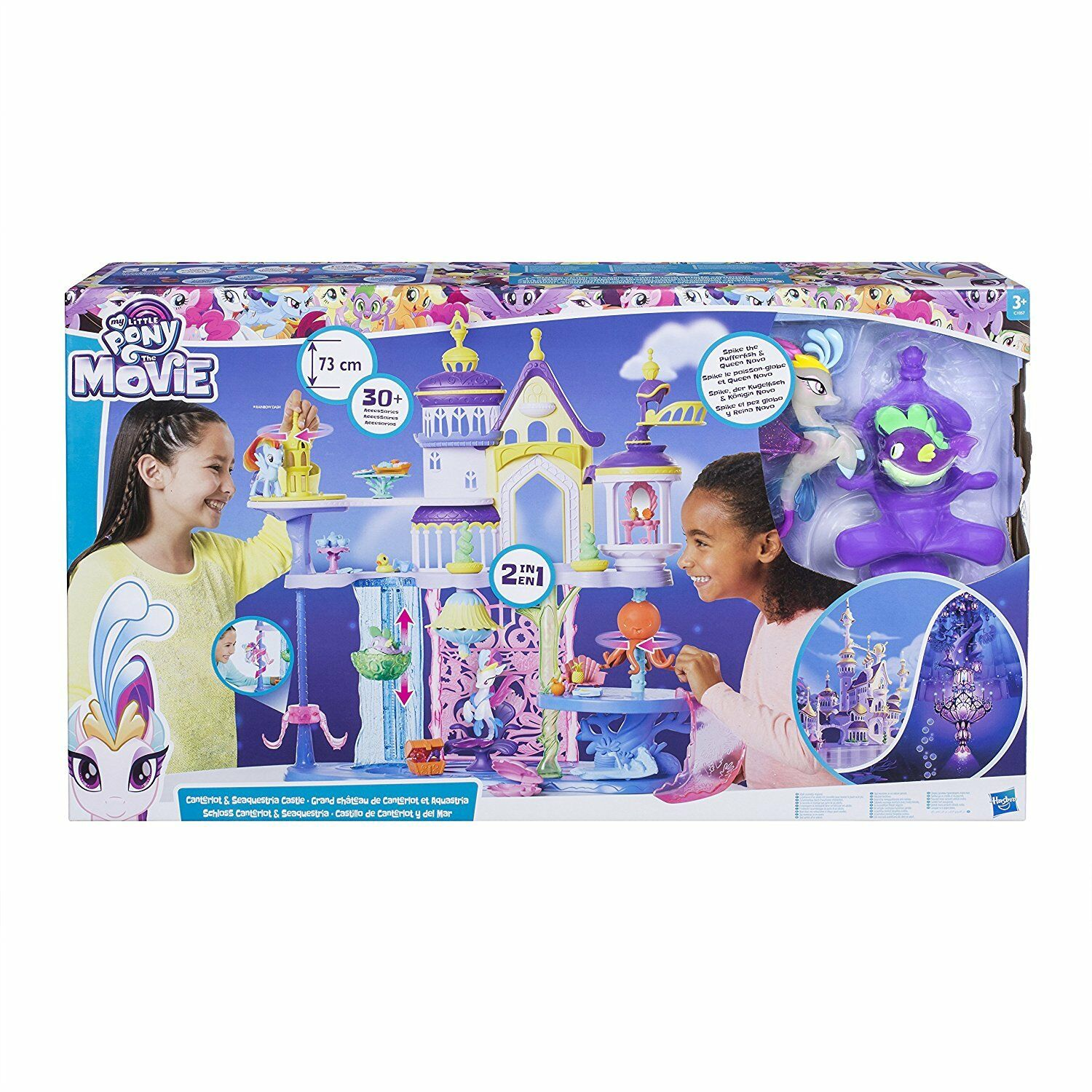 Hasbro My Little Pony Playset Terra & Mare