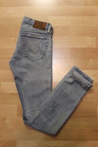 Double Sz Skinny Rrl Fit Ralph Lauren Tidevands Rl 26 Light Jeans Selvedge Kvinders dTSSXqPw