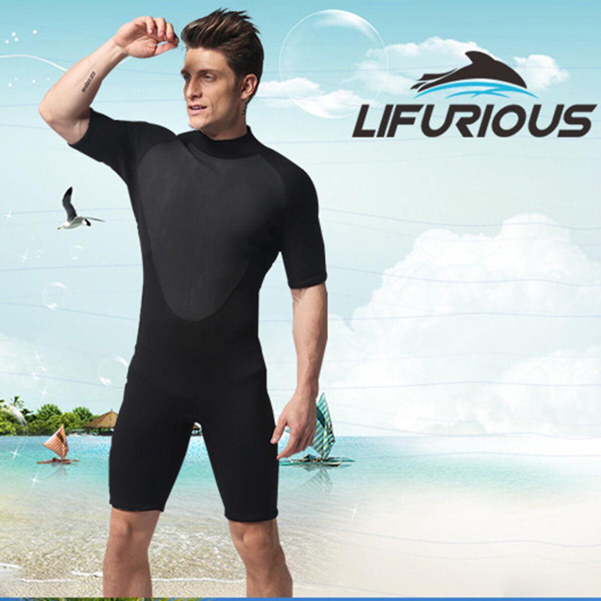 3 mm Men's Wetsuit Neoprene Scuba Dive Short Diving Equipment Cool Split Suits