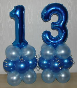 Image Is Loading 13th BIRTHDAY AGE 13 MALE BOY FOIL BALLOON