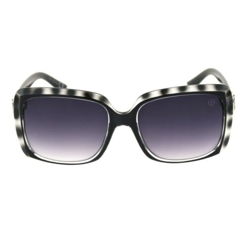 Womens Rectangle Mod Thick Plastic Chic Designer Luxury Sunglasses
