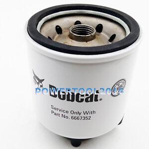 fuel filter for bobcat skid steer loader excavator tractor 6667352 | ebay  ebay