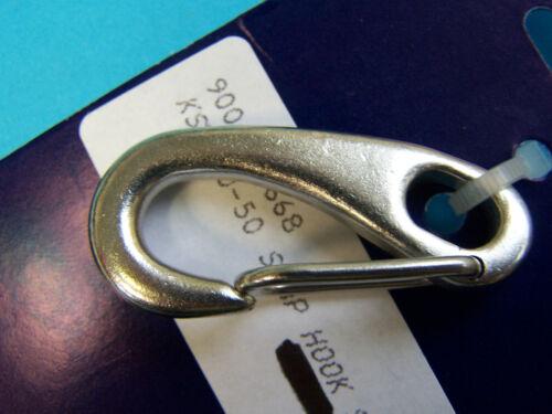 "Victory KS2470-50 Snap Hook Stainless Steel 50mm 2/"" Length 90069-668"