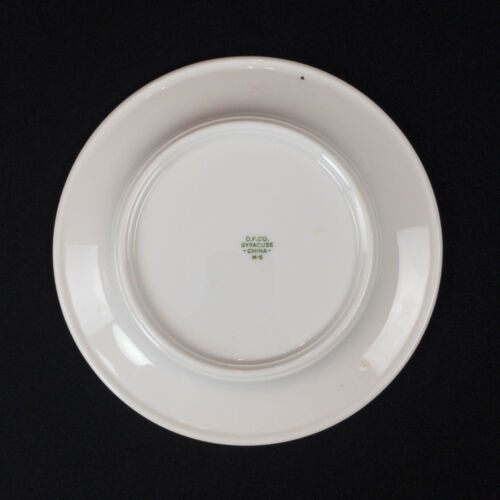 Eastern Star Andral Vann Chapter Texas Masonic Bread Plate by Syracuse China