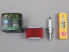 Oil Filter Tune UP Kit for HONDA 300 TRX300FW TRX-300FW  FOURTRAX 4X4 Spark Plug