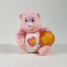 Vintage Care Bears Baby Hugs Bear with Ball PVC Figure 1984 Miniature Mini