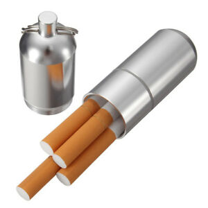 Men-Pocket-Metal-Tube-Shape-Dampproof-Cigarette-Case-Container-with-Key-Ring-Sal