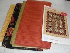 """GINGER ROSE Block of the Month Quilt Kit by Nancy Murty Bee Creative 73""""x90:"""""""