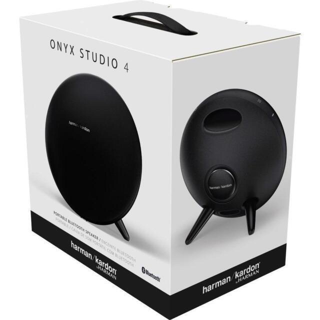 Harman Kardon Speakers >> Harman Kardon Onyx Studio 4 Portable Bluetooth Speaker Black For