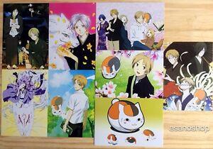 Natsume Yuujinchou Manga Lot De 8 Cartes Postal II 夏目友人帳