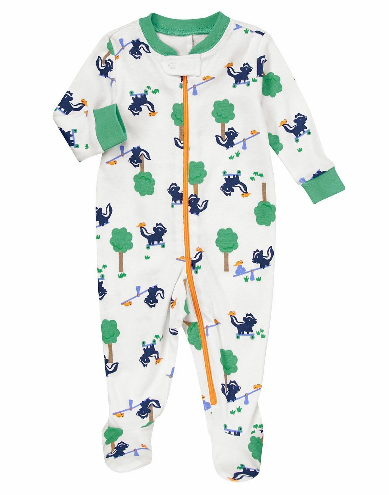 NB new too choose Gymboree baby boys slip n Play footed up to 5lb 5-9 LB