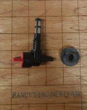 Fuel gas tank Grommet and Shut off valve Generators Craftsman Coleman Generac