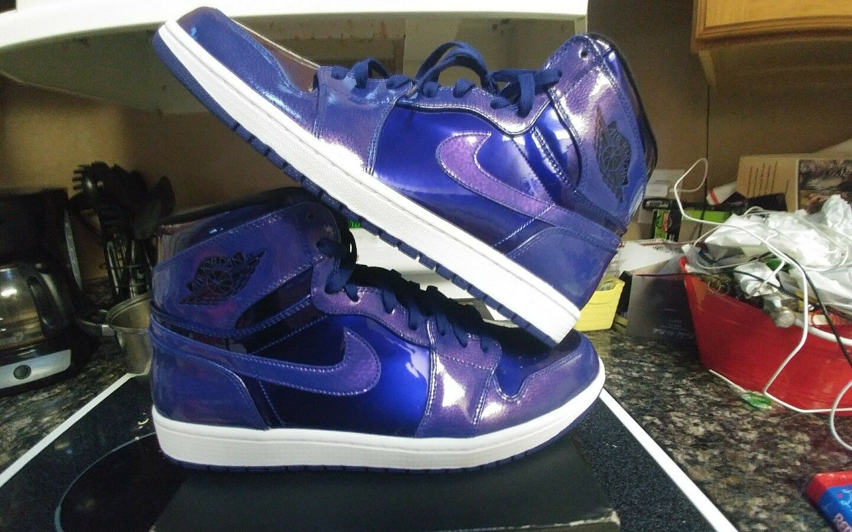 Nike Air Jordan 1 Retro High Anti Gravity Deep Royal Og banned size 15 xi ovo iv