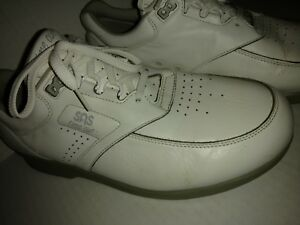 bc79b139b0 Mens SAS 10 M Time Out Walking Shoes White Orthopedic | eBay