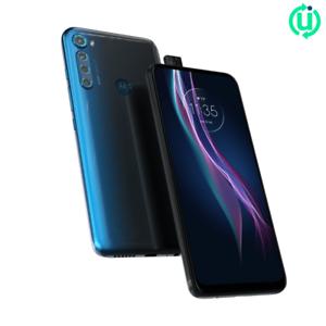 [Original Box] Motorola One Fusion+ (GSM Unlocked, 128GB, Twilight Blue, New)