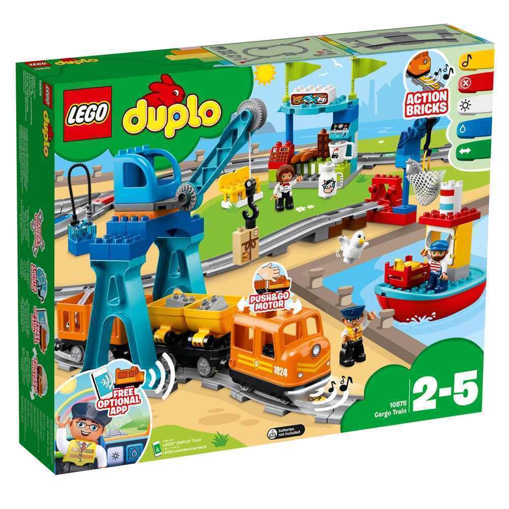 LEGO Duplo 10875 - tren de carga nuevo caja original