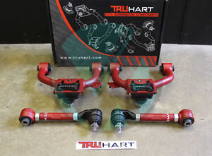 Truhart Front And Rear Camber Kit Combo Acura TL EBay - Acura tl camber kit