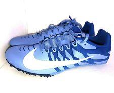 Nike Zoom Rival S 9 женские беговые дорожки с шипами обувь размер 12 синий 907565 401