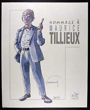 Hommage à Maurice Tilleux Port Folio collectif Ed. Le Rat d'eau 2001 Comme neuf