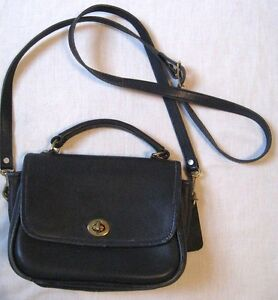 Image Is Loading Leather Handbag Crossbody By Otis Black Cowhide Purse