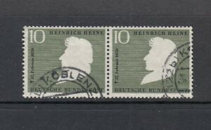 BRD-Michel-Nr-229-waagerechtes-Paar-gestempelt