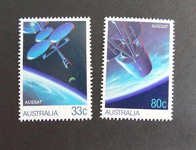 Briefmarken Australia 1986 Aussat Communications Satellite Sg998/9 Um Mnh Unmounted Mint