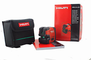 Hilti Laser Level Pm 2 Lg Green Laser Contains L Shaped