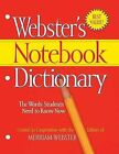 Webster's Notebook Dictionary by Federal Street Press (Paperback / softback, 2009)