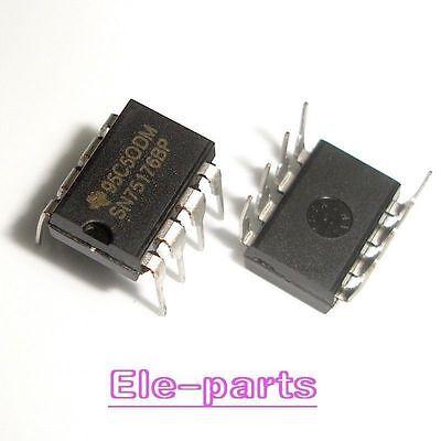 50PCS SN75176 SN75176BP IC DIFF BUS TXCVR 8-DIP NEW