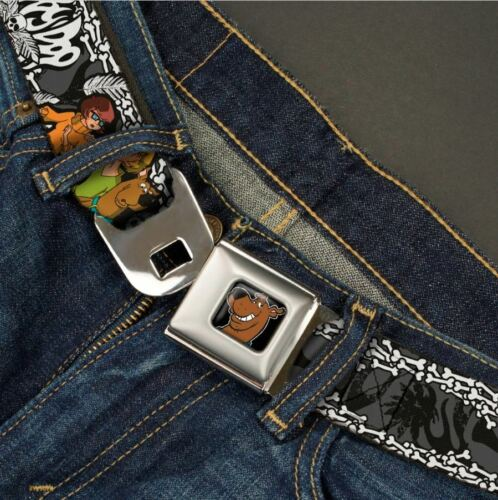 USA Buckle Down Seatbelt Belt Halloween Scooby Doo Shaggy Fred Velma Daphne
