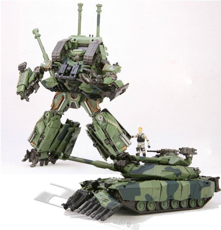 TF DreamWorks Transformers God02tf Leader Tank APS02 Noisy Figure verde Coloree