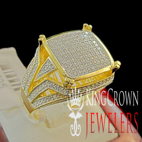 MEN/'S LADIES WOMEN/'S WEDDING ENGAGEMENT BRIDAL 14K GOLD FINISH PINKY RING BAND