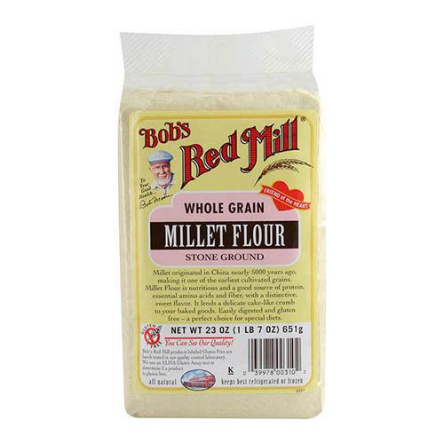 Gluten Free Millet Flour 500g - Bobs Red Mill