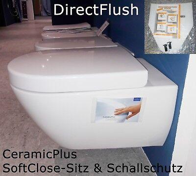 V&B Villeroy & Boch Subway 2.0 Wand WC ohne Spülrand, spülrandlos, Directflush