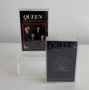 Queen Greatest Hits 1981 & Greatest Hits II 1991 Cassette Tapes Excellent Tested