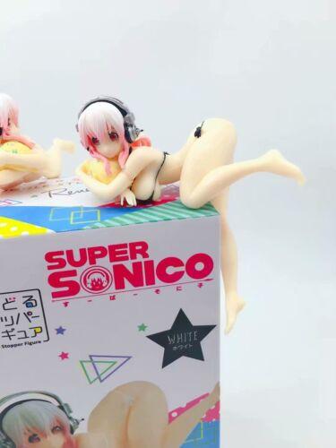Anime Super Sonico Noodle Stopper Swimsuit Ver PVC Figure New No Box Black