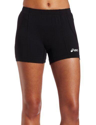Asics Asics Asics damenS Baseline Volleyball Shorts schwarz Medium a7cf4d