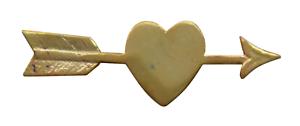 Heart Pierced By An Arrow Gilded Symbol For Orange Order Collarette
