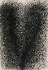 Regine von Chossy, Herzklopfen, Mischtechnik auf Zeichenpapier, signiert, 1994