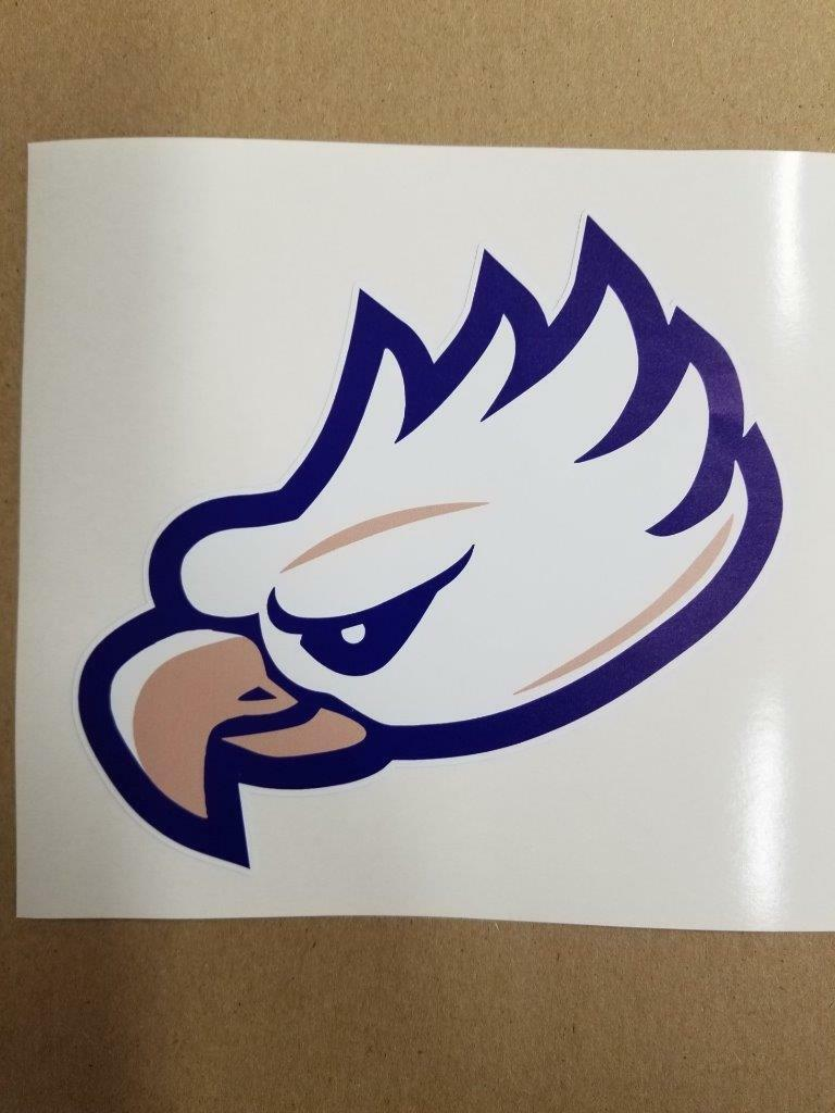 Fgcu Eagles Cornhole  board or vehicle window decal(s)FE3  online sales
