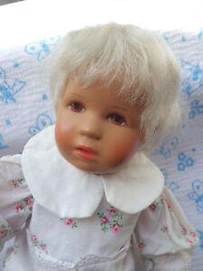 kà the kruse puppe rumpumpel baby mit braunen augen blonden haaren