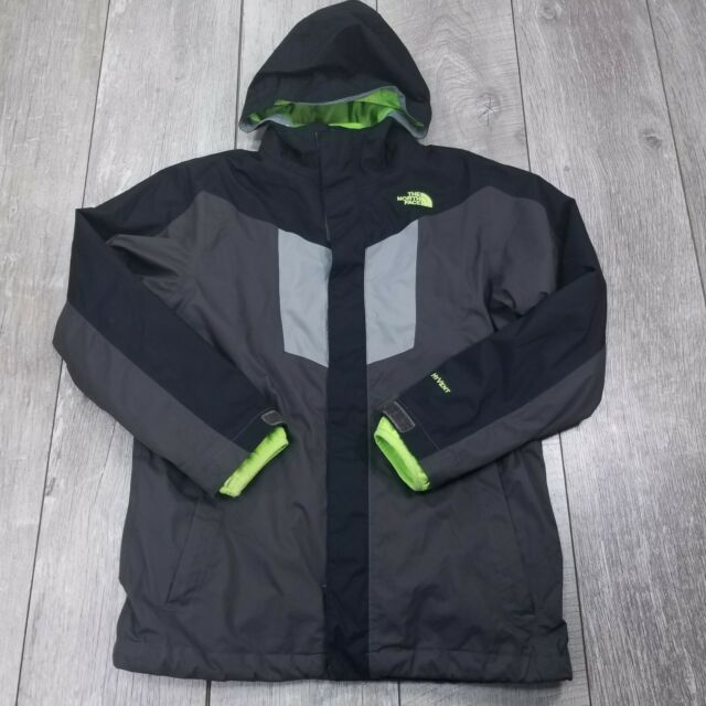 The North Face REVERSIBLE Fleece Hoodie Winter Coat Boys Size L//S//XS NWT