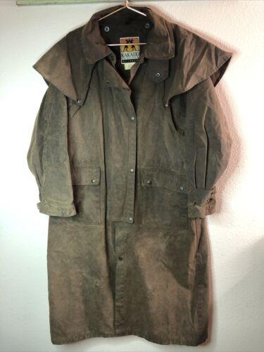 Kakadu Oilskin Waxed Australian Drover Jacket Coat