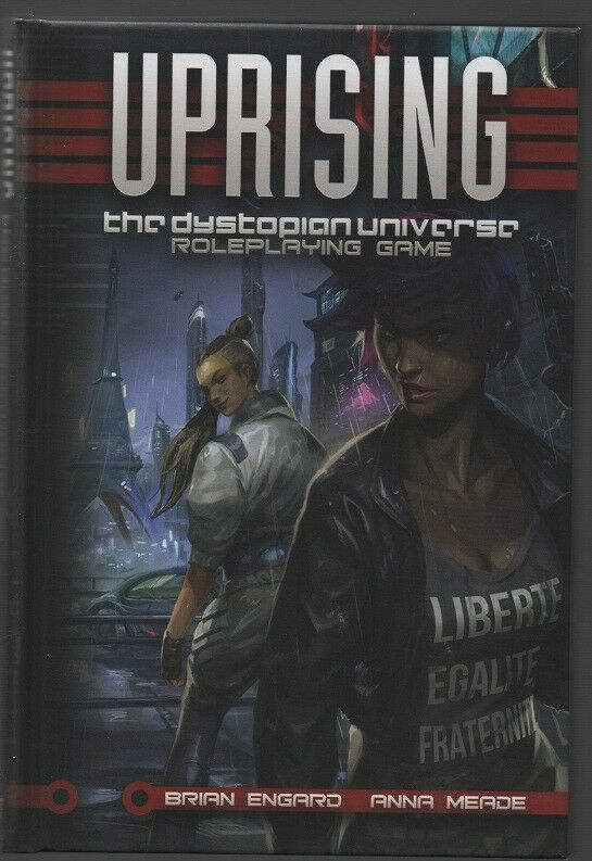 Uprising - The Dystopian Universe - Fate - Evil Hat Producrtions - HC - 2018.