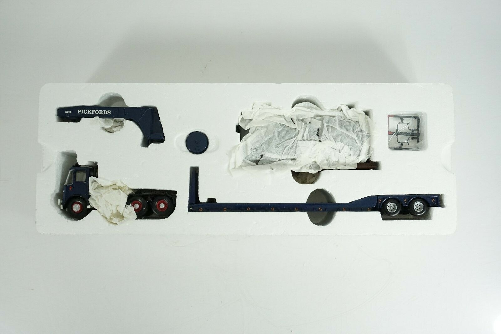 Corgi transporte pesado 1 50 Pickfords Atkinson Venturer con remolque King CC12507
