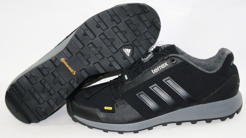 nuovo mens sz 9 adidas terrex fastshell b27299 primaloft nero