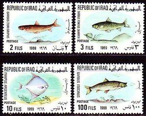 100% Garantie mnh Fische Meerestiere Irak 548-51 **
